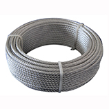 7X7 Galvanized Steel Wire Rope, Aircraft Cable