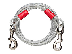 Dog Tie Out Cable-up to 150lbs