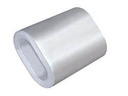Oval Aluminium Ferrules/Sleeves, Wire Rope
