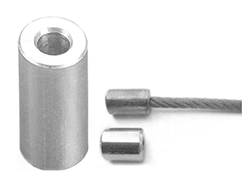 Aluminium End Stop, Wire Rope