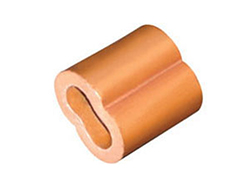 Duplex Copper Ferrules/Sleeves, Wire Rope